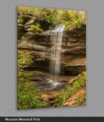 beautiful waterfall print