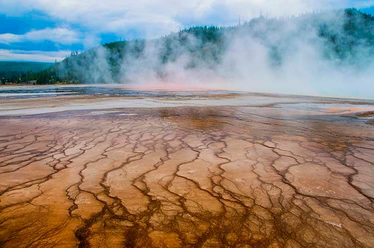 grand prismatic spring photos