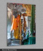 angkor wat temple buddha print