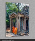 angkor wat buddhist temple print
