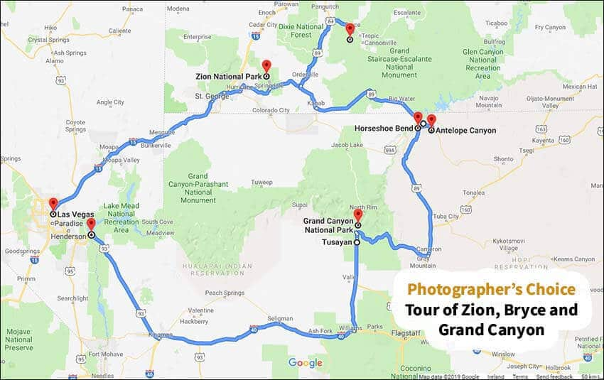 tour of the grand canyon