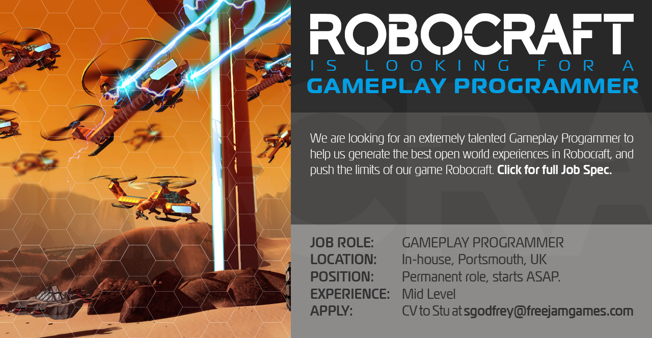 Gameplay Programmer Job