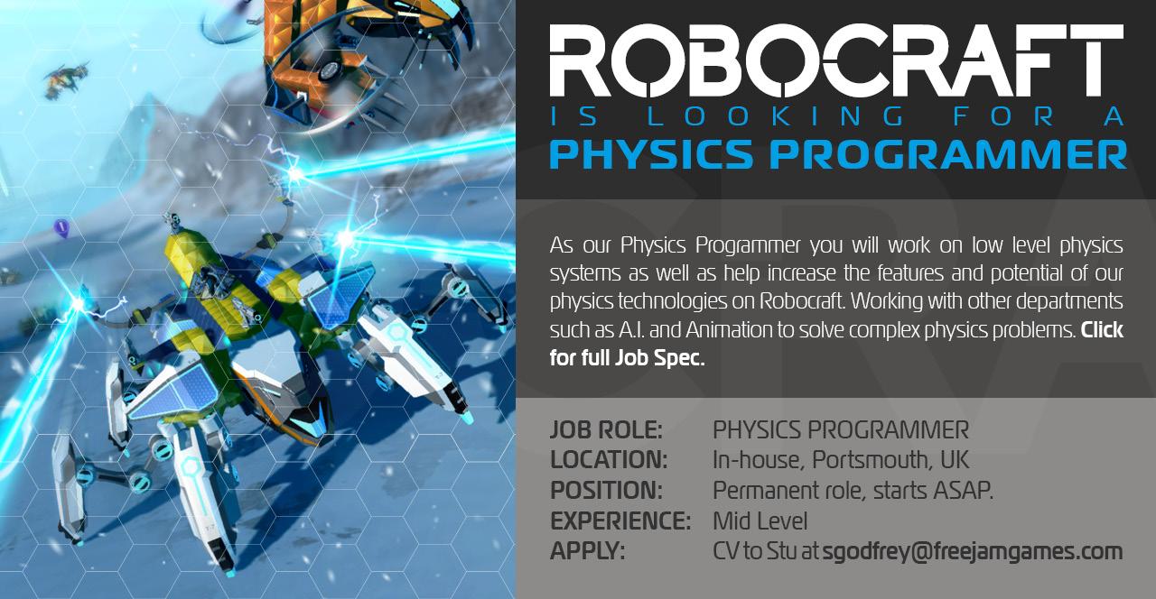 Physics Programmer Job
