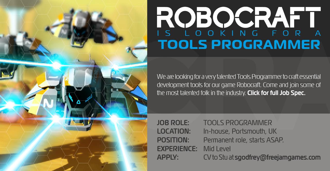 Tools Programmer Job