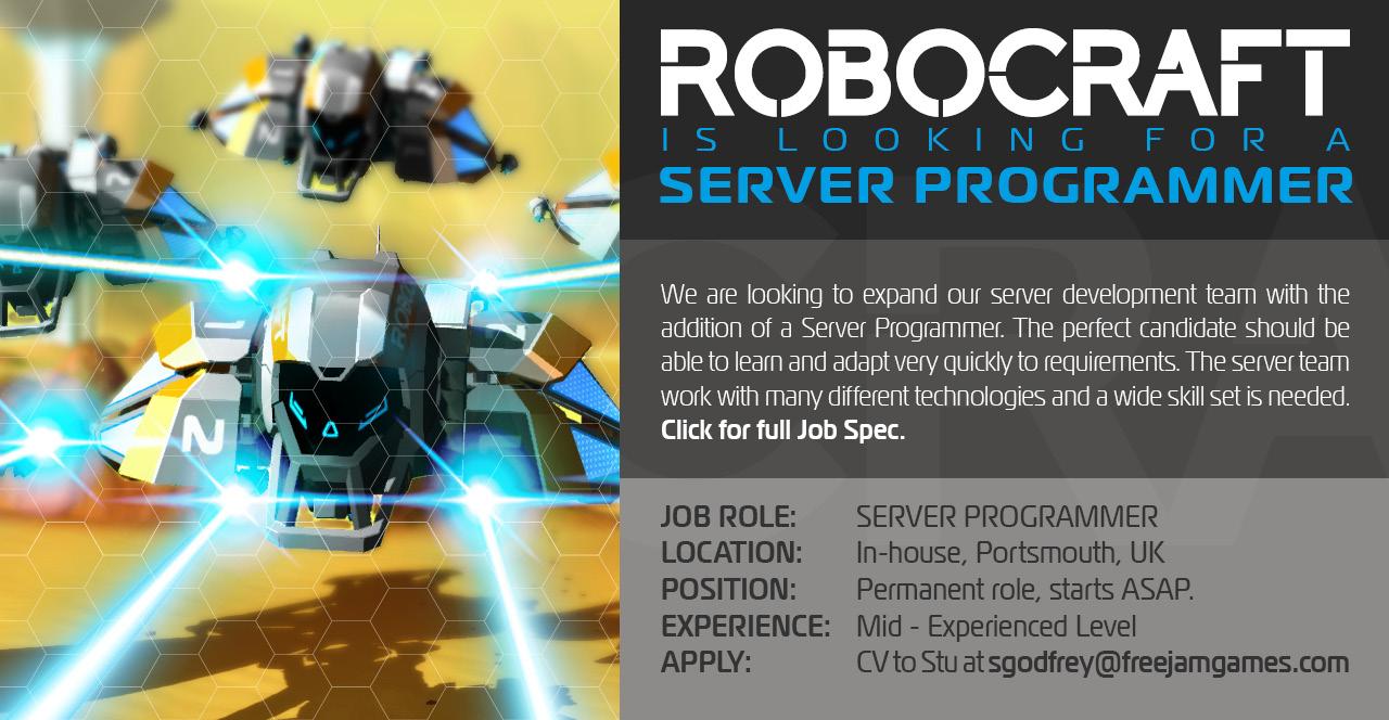 Server Programmer Job