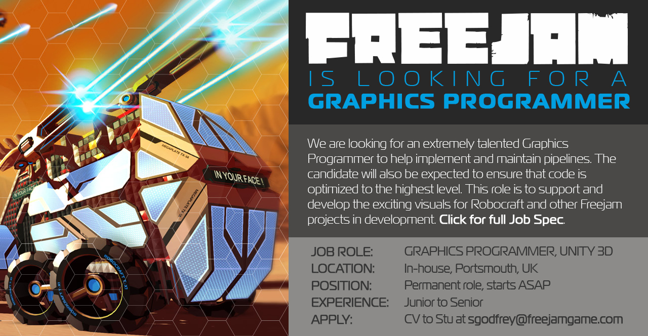 Graphics Programmer Job