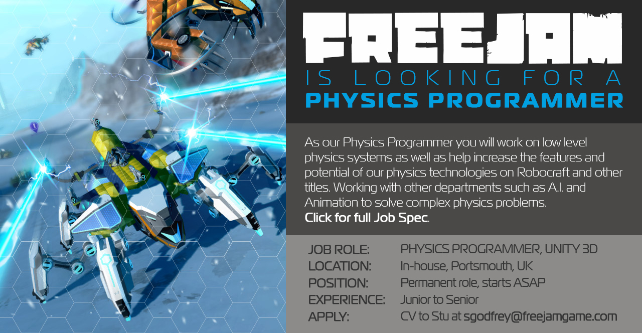 Physics Programmer Job