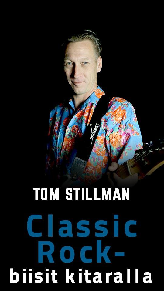 Classic Rock -biisit kitaralla