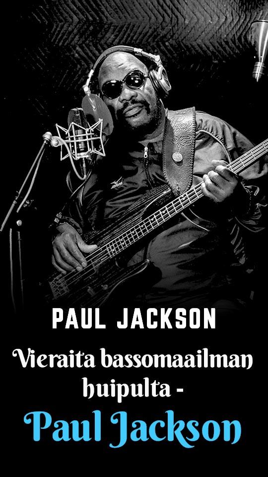 Vieraita bassomaailman huipulta - Paul Jackson