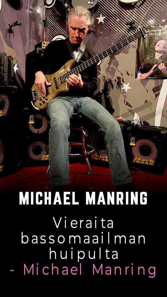 Vieraita bassomaailman huipulta - Michael Manring