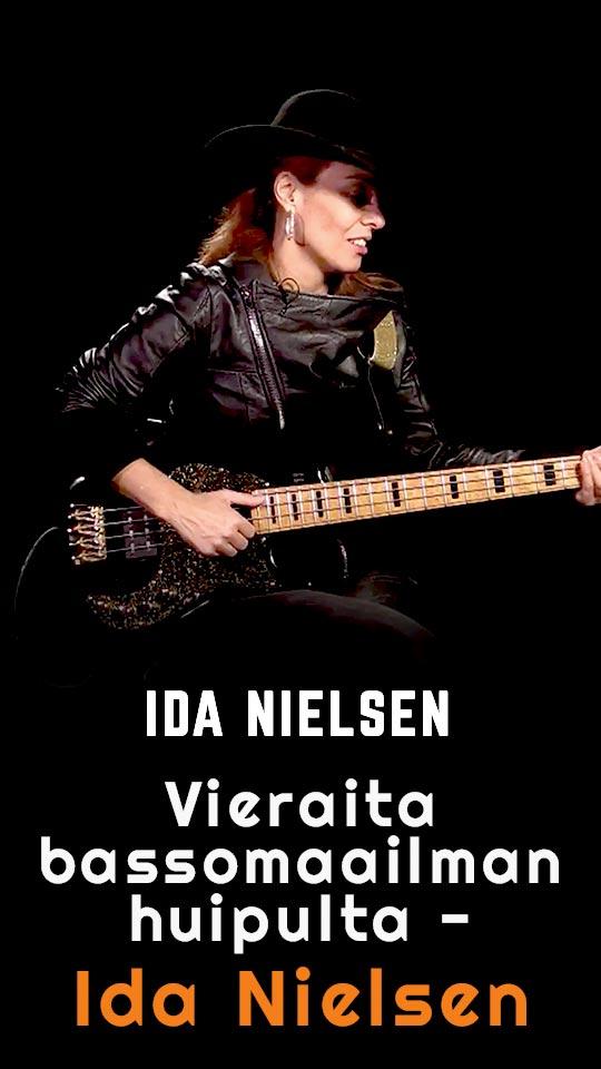 Vieraita bassomaailman huipulta - Ida Nielsen