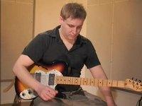 Shuffle, soittoesimerkki (kitara)