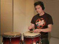Latin-jazz -biisi, soittoesimerkki (conga)