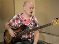 Kuudestoistaosien harjoittelua blues-riffillä G:stä, osa 2