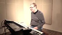12/8-balladi, soittoesimerkki (koskettimet)