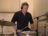 Rhythm Changes (fast), soittoesimerkki (rummut)