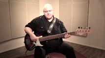 Hidas shuffle, soittoesimerkki (basso)
