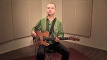 Hidas shuffle, soittoesimerkki (kitara)