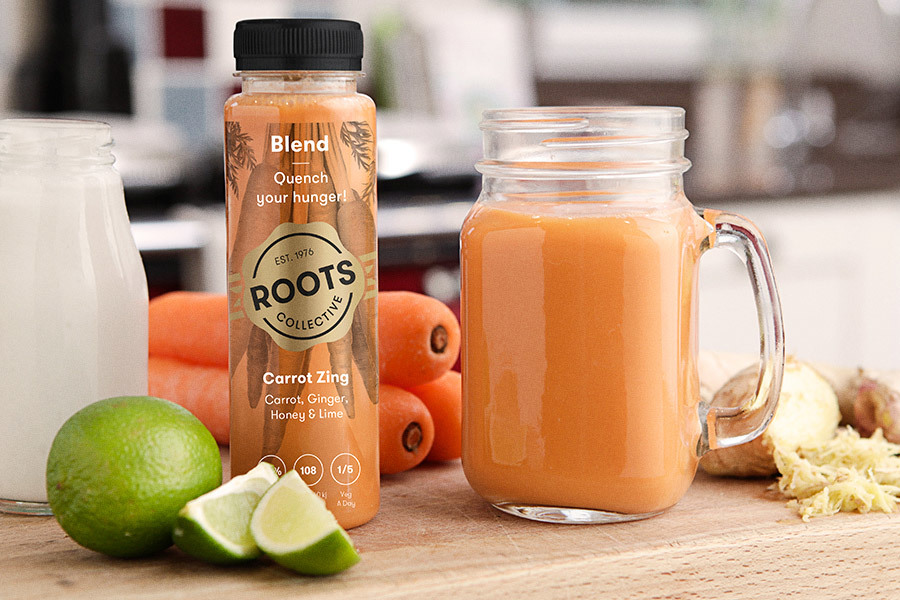 Roots collective carrot zing