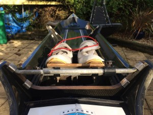 Ray Sims 70kg single scull for sale