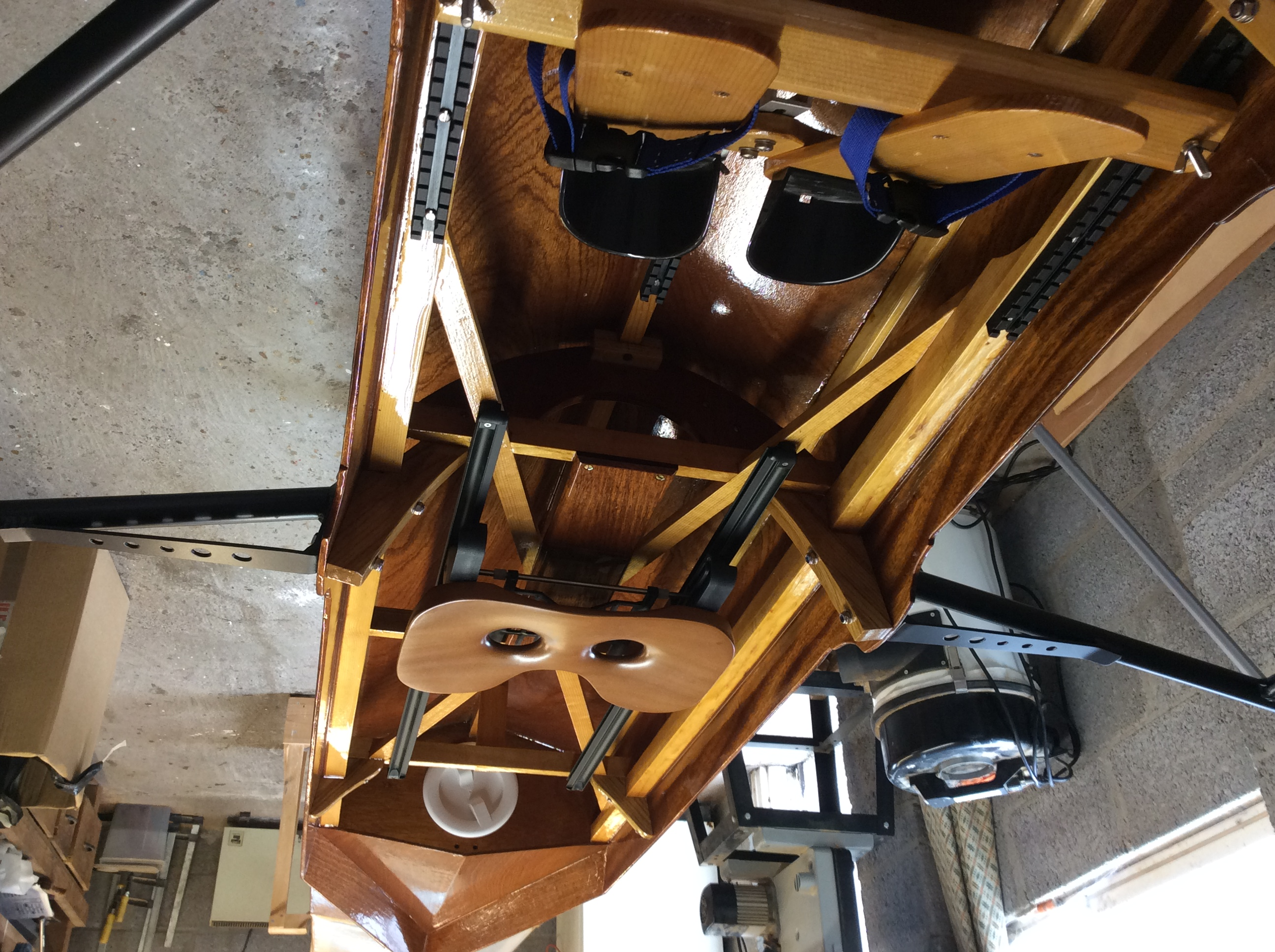 Brand new hand-crafted Single Scull