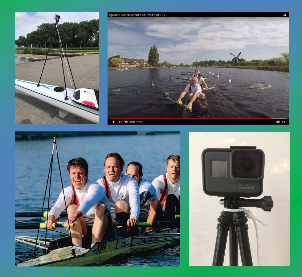 Rowing Tripod for actioncameras