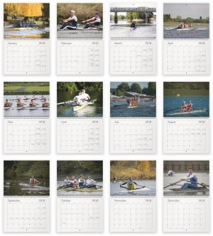 2018 Rowing Events Calendars