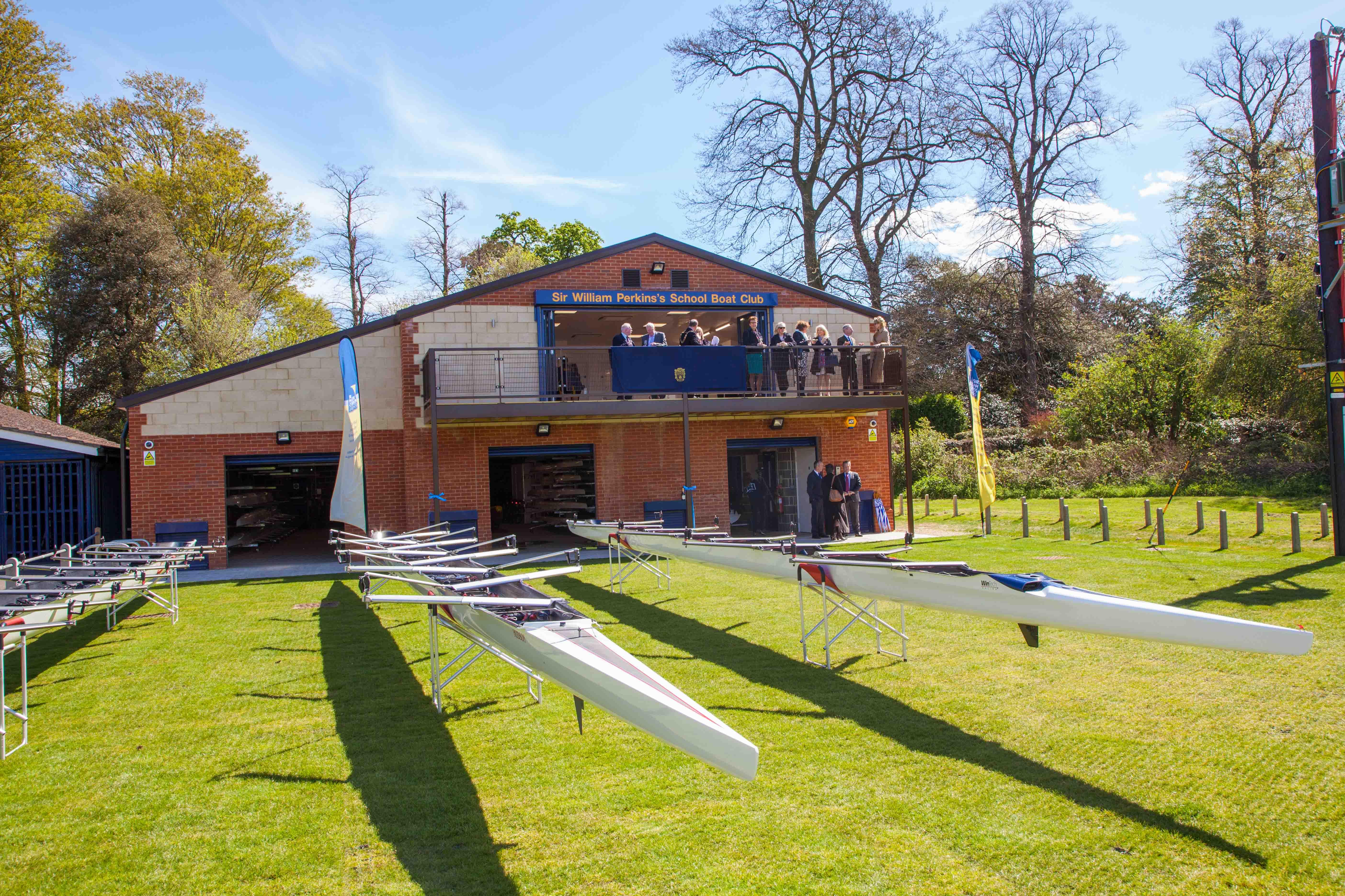 Boatperson & Rowing Coach at Sir William Perkins's School