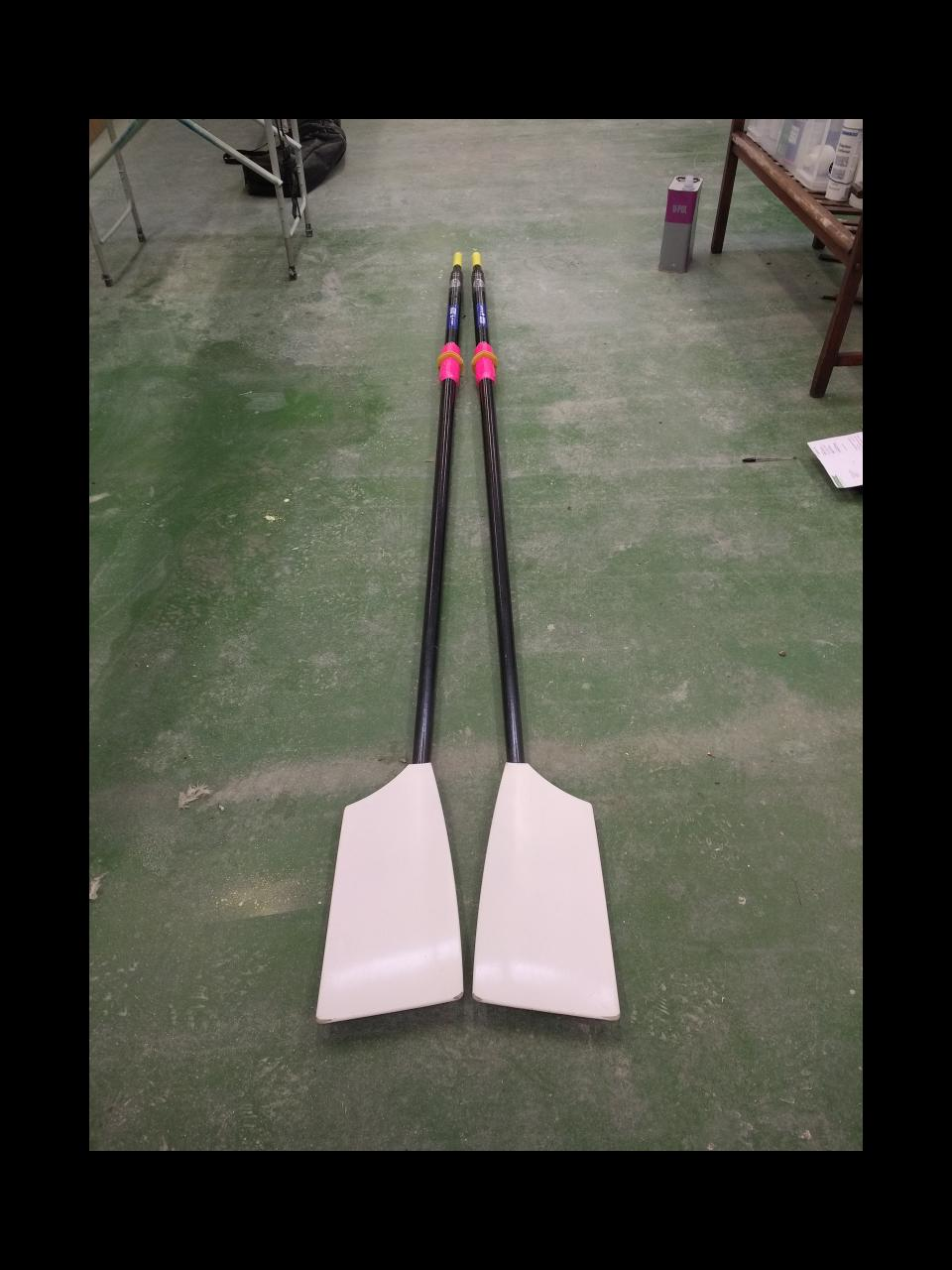 Croker S4 Soft full carbon sculling blades for sale
