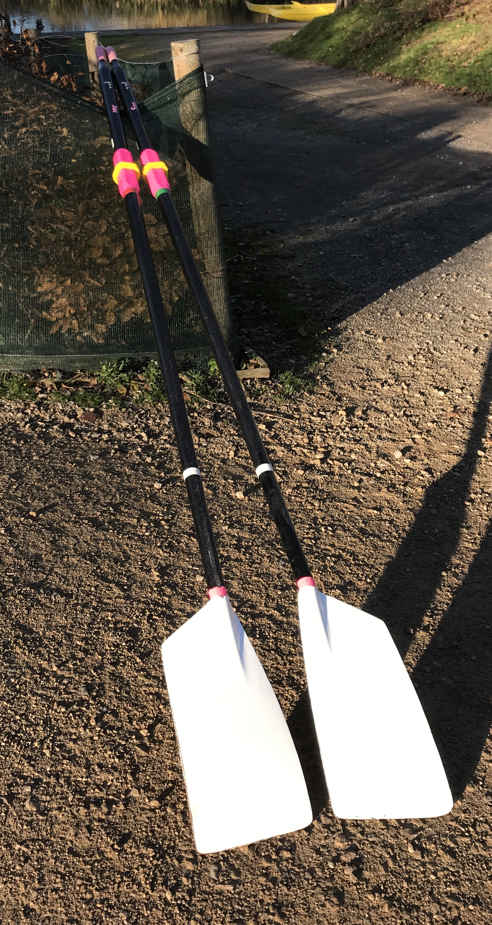 Pair of Croker S3 Sculling Blades for Sale REDUCED PRICE