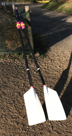 Pair of Croker S3 Sculling Blades for Sale
