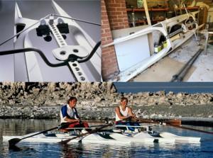 Skimmer sculling boat for sale