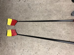 RDS WINTECH sculling blades