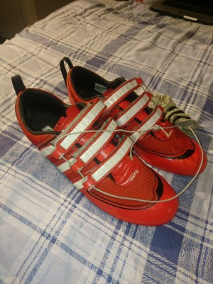 Adidas Rowing Shoes London 2012 edition.