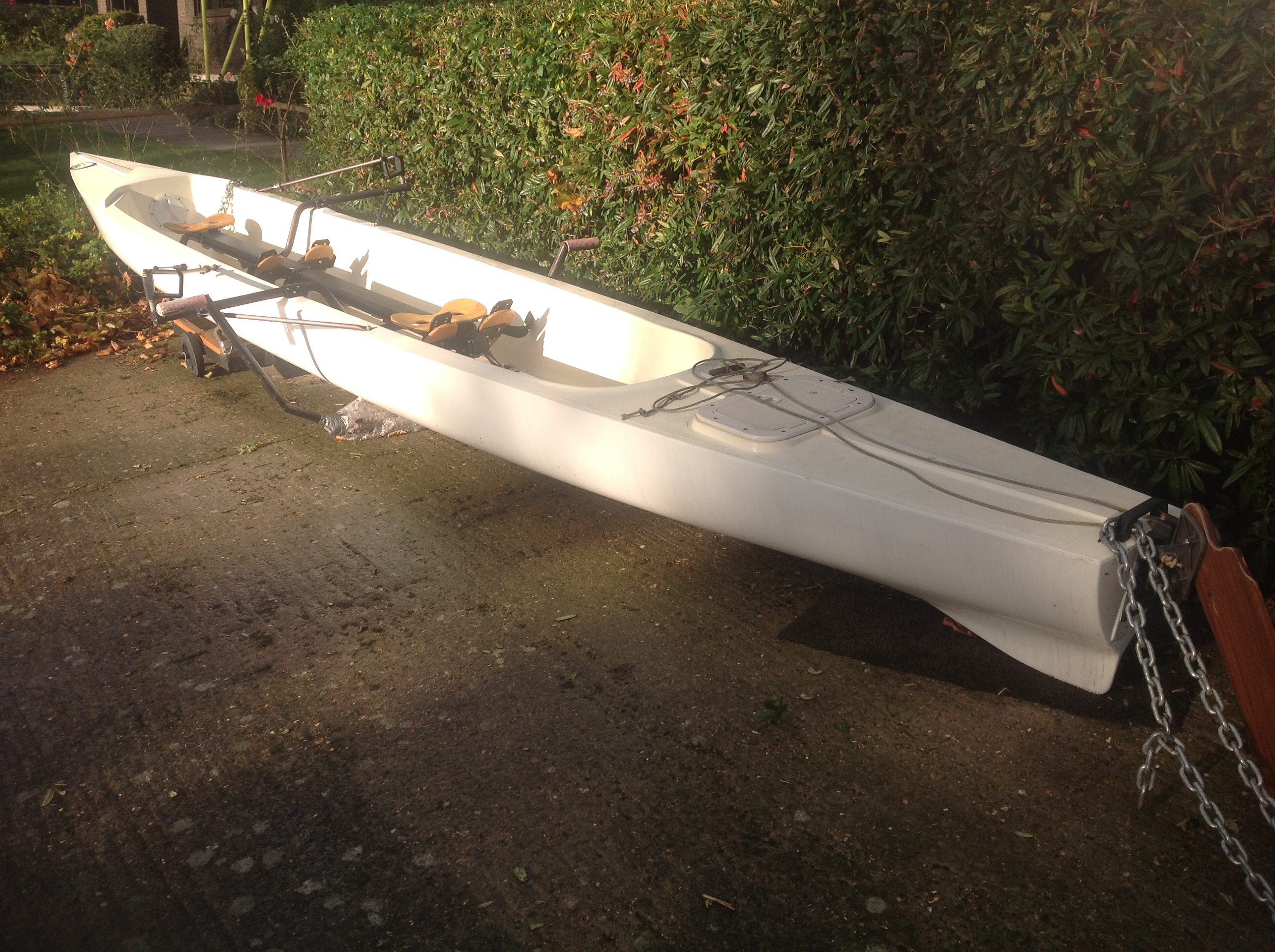 Tub coxed pair / double scull