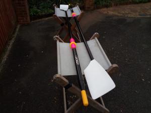 Croker sculling blades