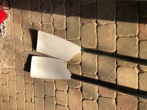 Concept 2 Smoothie Plain Edge Blades / Oars 1x Scull