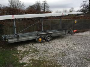 Motiv centre post 3x12 braked boat trailer