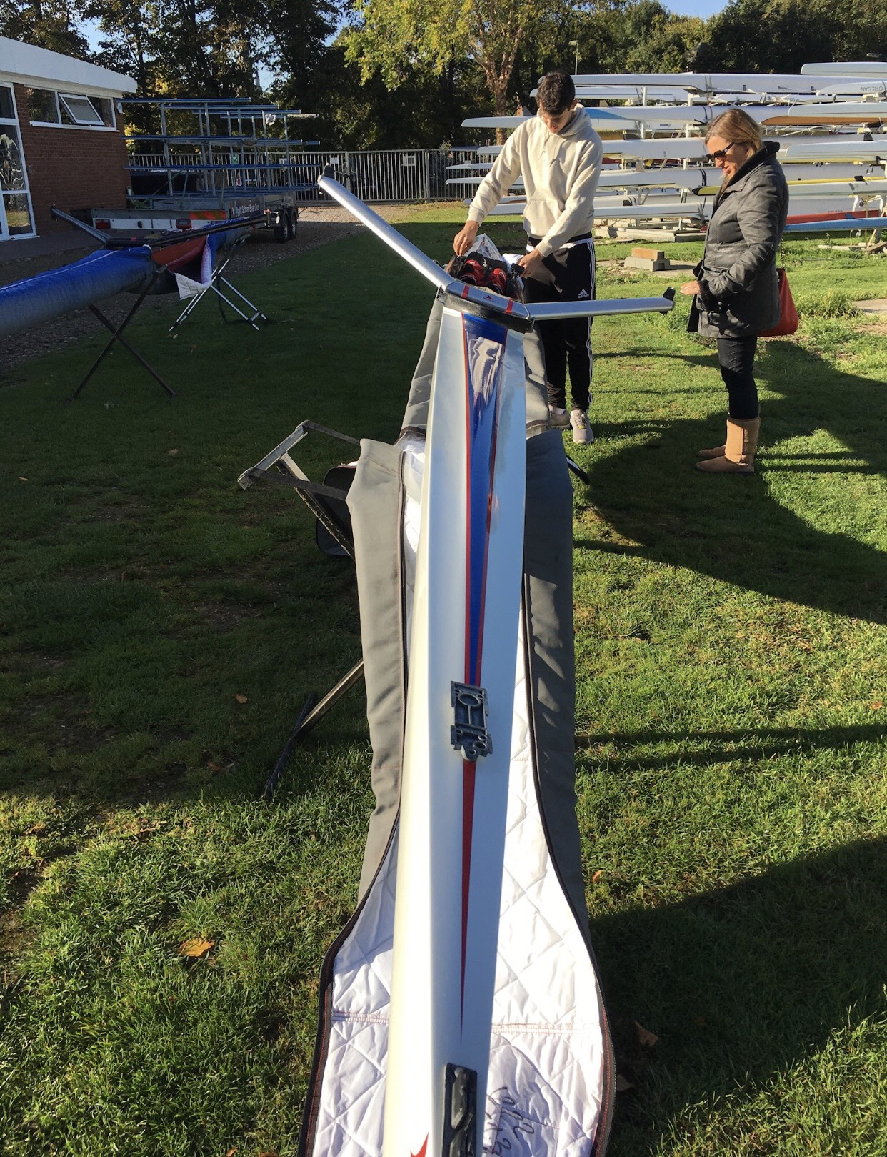 Hudson S1.41 Single Scull (With USP footplate)