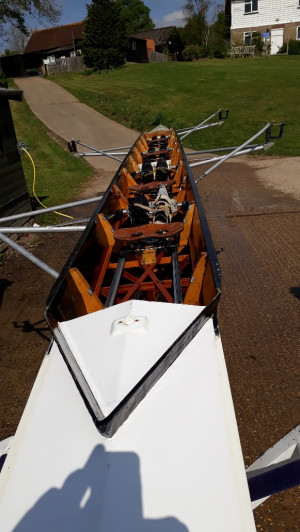 Sims Coxless Four