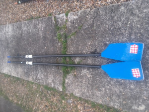 3 sets of sculling blades for sale