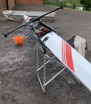 65-75kg Kanghua Single Scull Reverse Carbon Wing