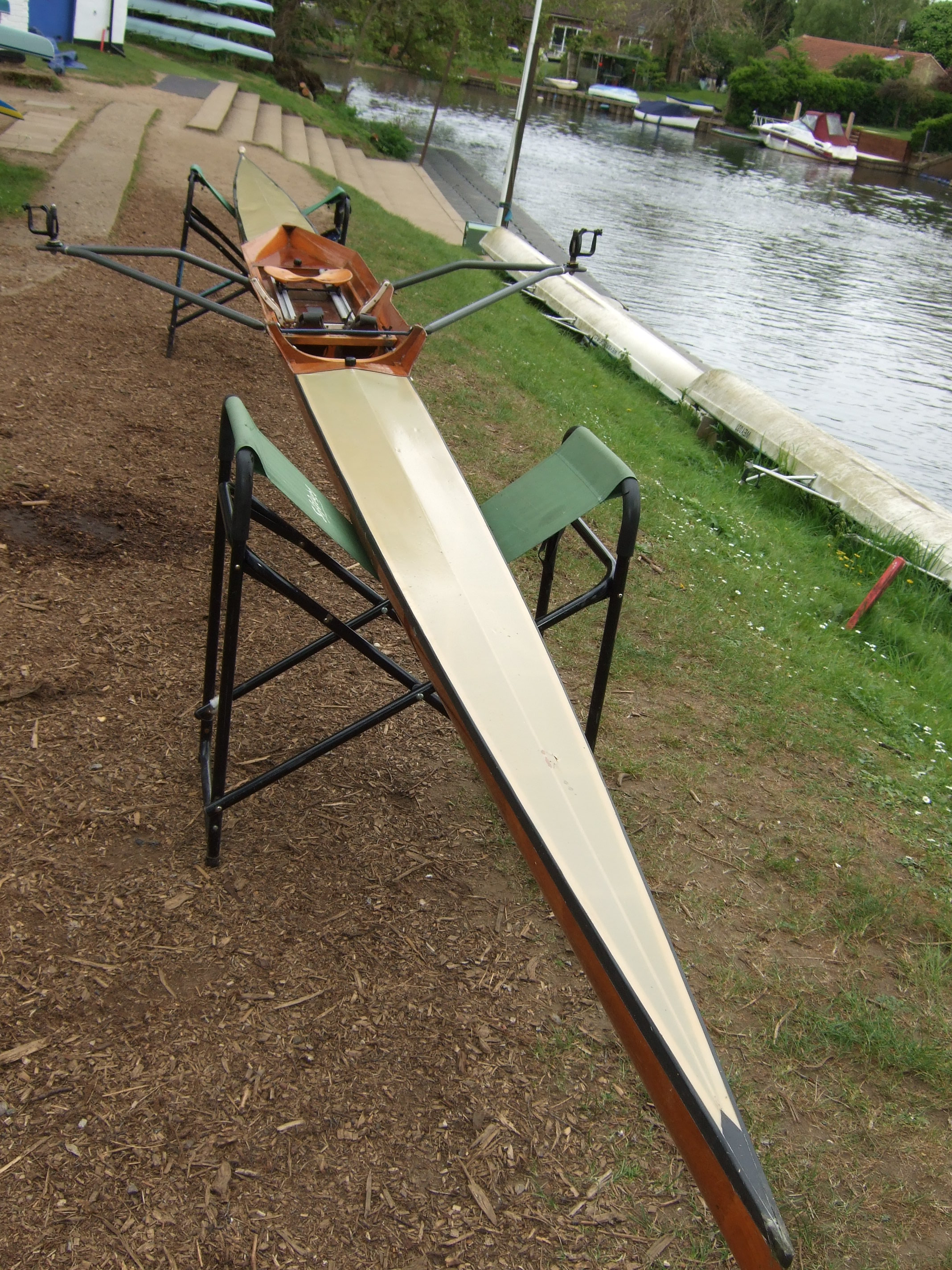 WOODEN SCULLING BOAT FOR SALE