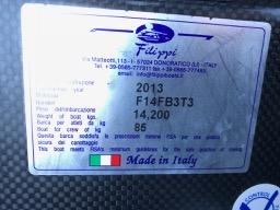 Filippi F14 1x - As New