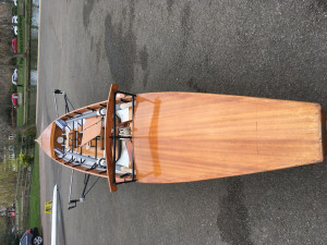 Recreational Traditional Rowing Boat For Sale