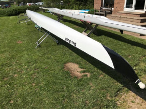 2005 Swift 'Elite' Coxed 4 85kg, wired for sound