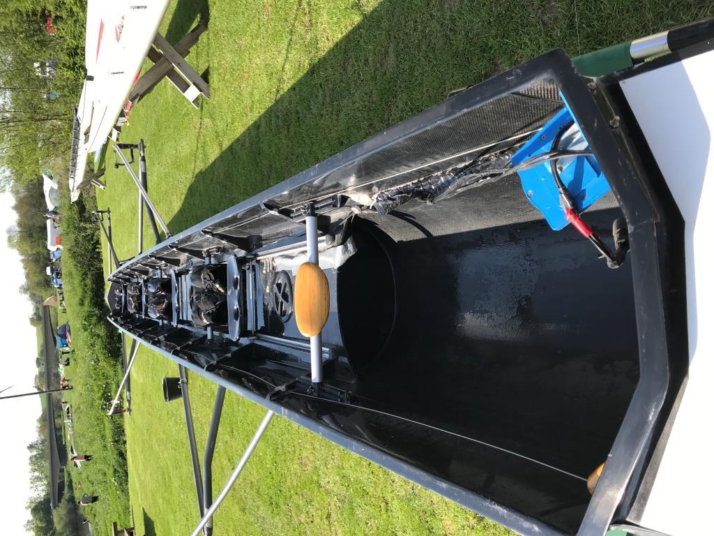 2005 Swift 'Elite' Coxed 4 85/95kg Crew weight,  wired for sound (coxmate)