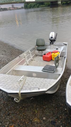 Seastrike 12ft semi flat reinforced floor and Mariner 15HP 2stroke outboard