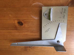 Pitch Gauge and height stick