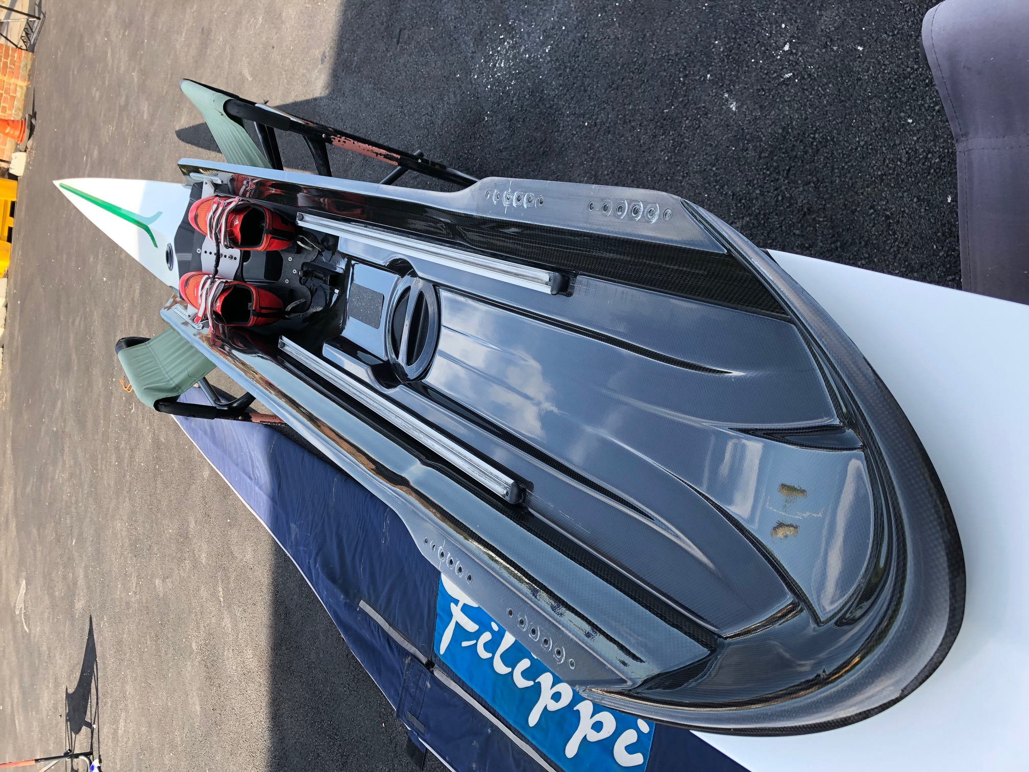 Fillipi F39 Aliante reverse wing carbon 1x 95kg 2014